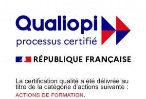 Logo Qualiopi Processus Certifié ACTIONS DE FORMATION